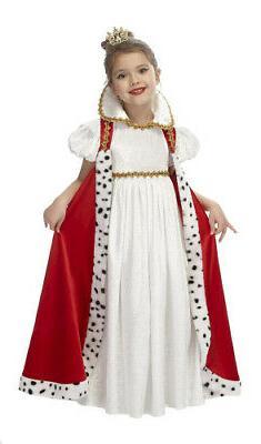Just Pretend Kids Court Empress Costume, Small. Brand New