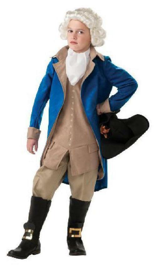 deluxe george washington costume