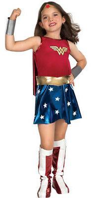 Deluxe Wonder Woman Kids Halloween Costume