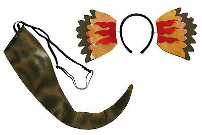 Dinosaur Dilophosaurus Tail Costume for adults and