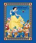 Disney Classic Snow White & the Seven Dwarfs Quilt cotton fa