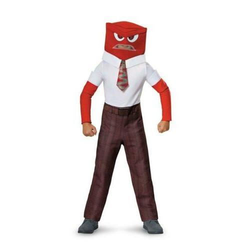 Disney Pixar's Inside Out Anger Classic Child Costume Medium