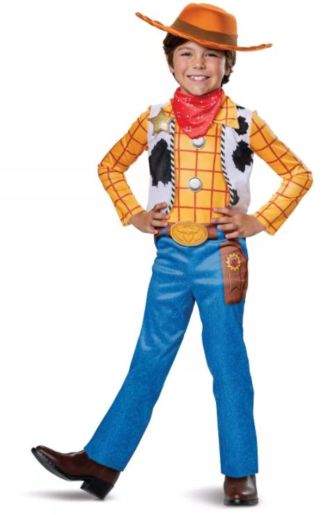 Disguise Disney Toy Story 4 'Woody' Kids Halloween Costume -