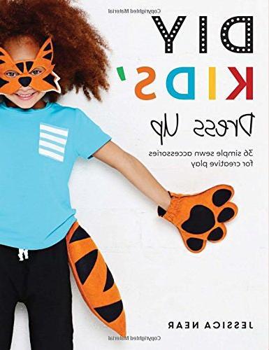 diy kids dress simple sewn accessories creative play