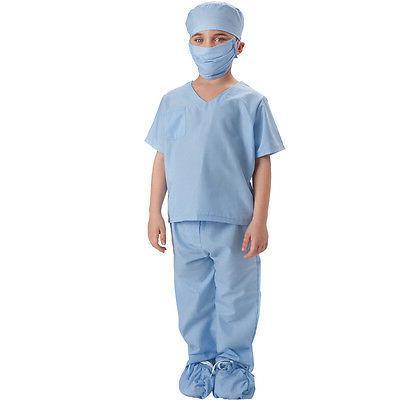 doctor scrubs toddler costume for kids