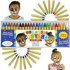 24 Colors Face Paint Safe & Non-Toxic And Body Crayons  Ulti