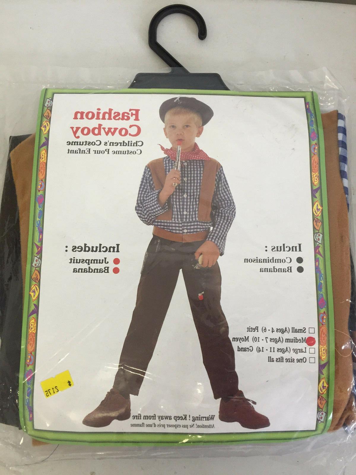 fashion cowboy child costume outfit jumpsuit
