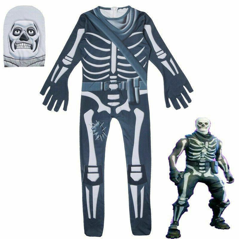 skull trooper halloween man raven cosplay costume
