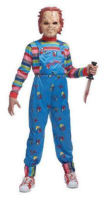 Franco American Novelty Company Child's Chucky Costume Blue