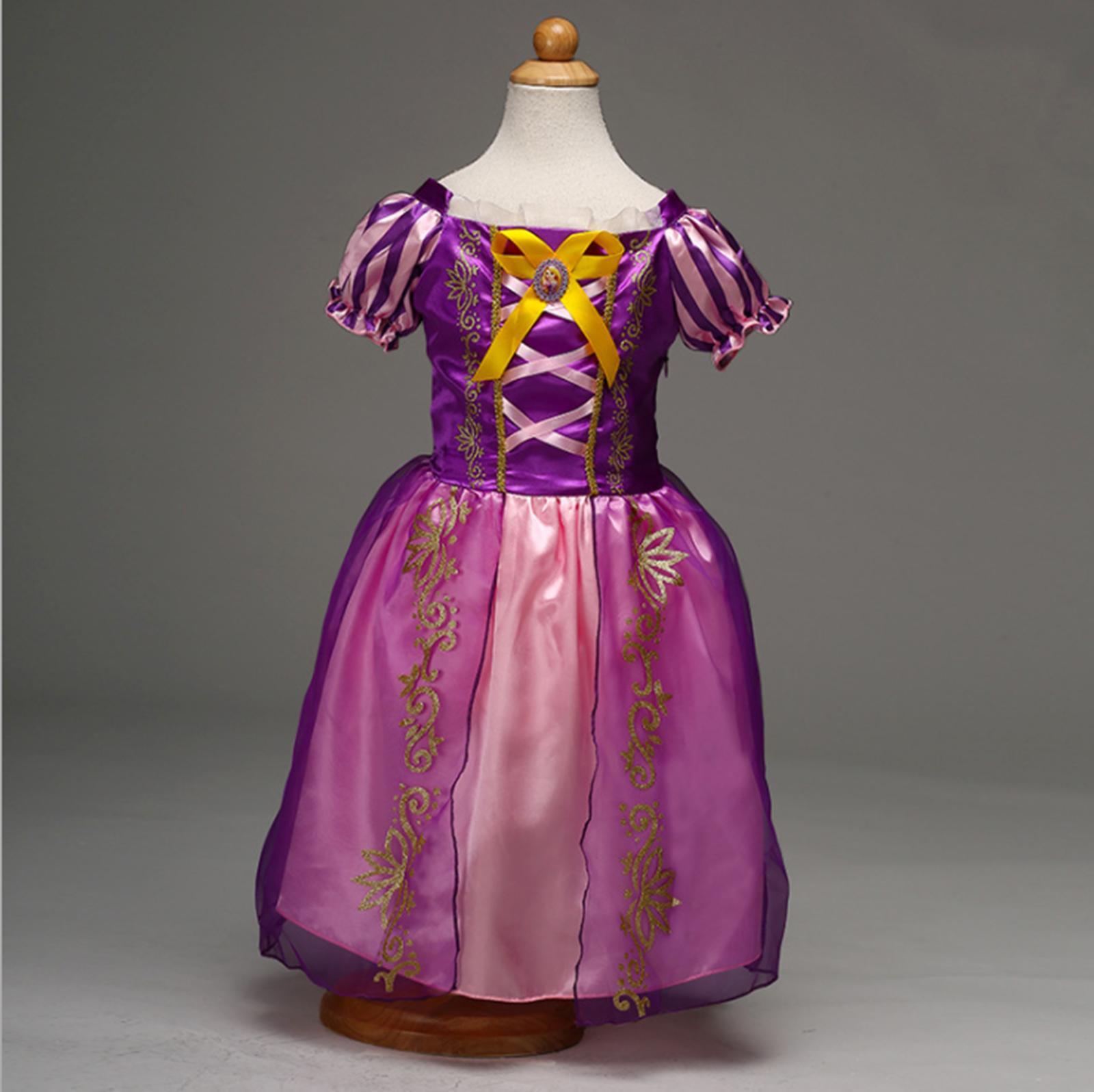 frozen princess elsa coronation dress kids costume