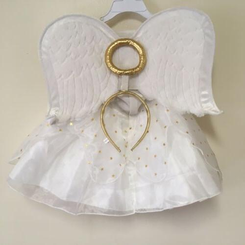 girls angel halloween costume new with tags