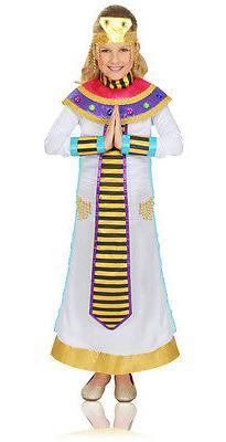 Girls Cleopatra Costume Halloween Fancy Dress Jeweled Egypti