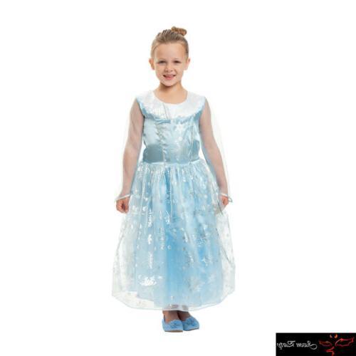 girls frozen queen elsa anna princess dress