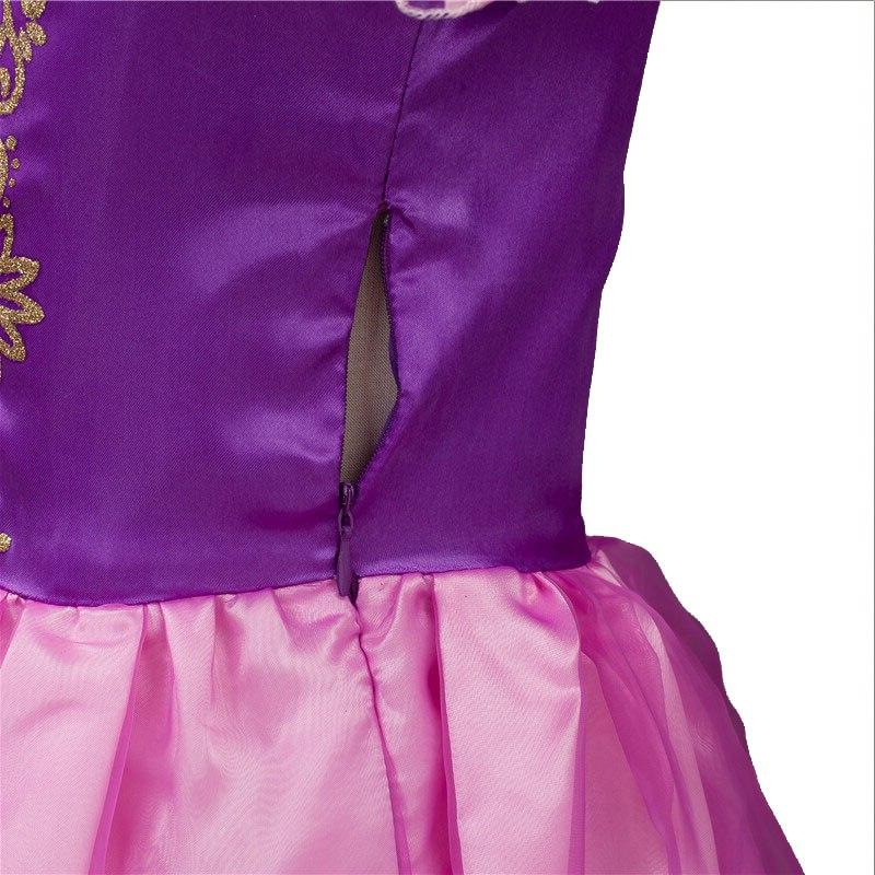 Girls Rapunzel <font><b>kids</b></font> With Birthday <font><b>Dress</b></font>