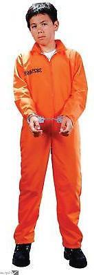 Fun World Got Busted Jail Inmate Halloween 2pc Child Costume