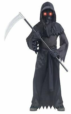 Fun World Grim Reaper Fade in/Out Unknown Phantom Costume, C