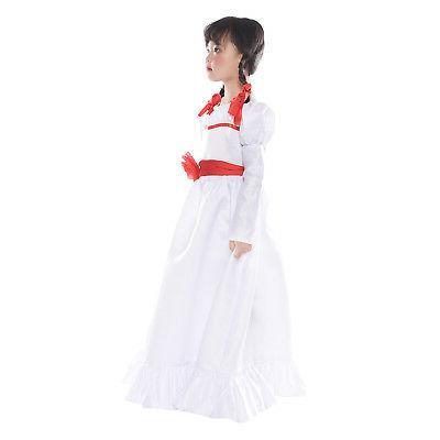 Halloween Annabelle Creation Long Dress /