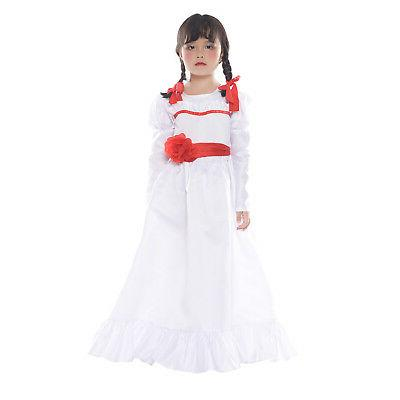 Halloween Costume Conjuring Annabelle Creation Long Fancy