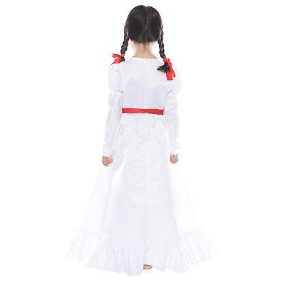 Halloween Annabelle Creation Long Dress