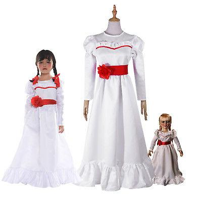 halloween costume the conjuring annabelle creation long