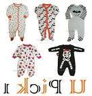 Halloween Sleep Play Boys Outfit Footie Sleeper Footed Girls
