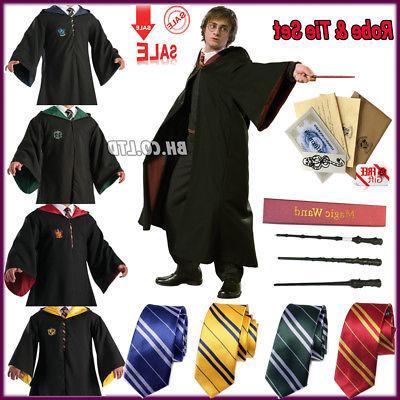 Harry Potter Hogwarts Child Robe Tie Set Costumes