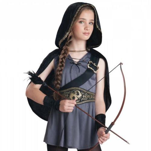 Hooded Huntress Costume Tween/Kids Halloween Dress