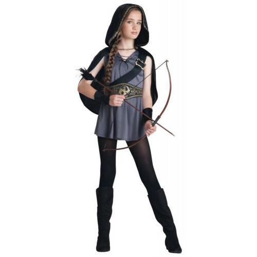 hooded huntress costume girls tween kids halloween