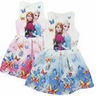 Hot Kids Girls Dress Dresses Disney Frozen Elsa/Anna Princes