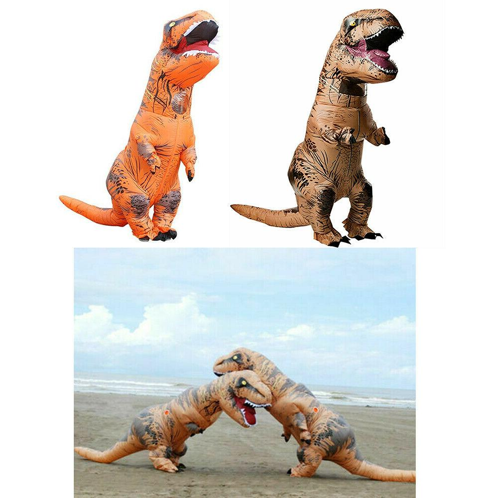 Inflatable Dinosaur Dino Adult kids Funny Blow up Outfits