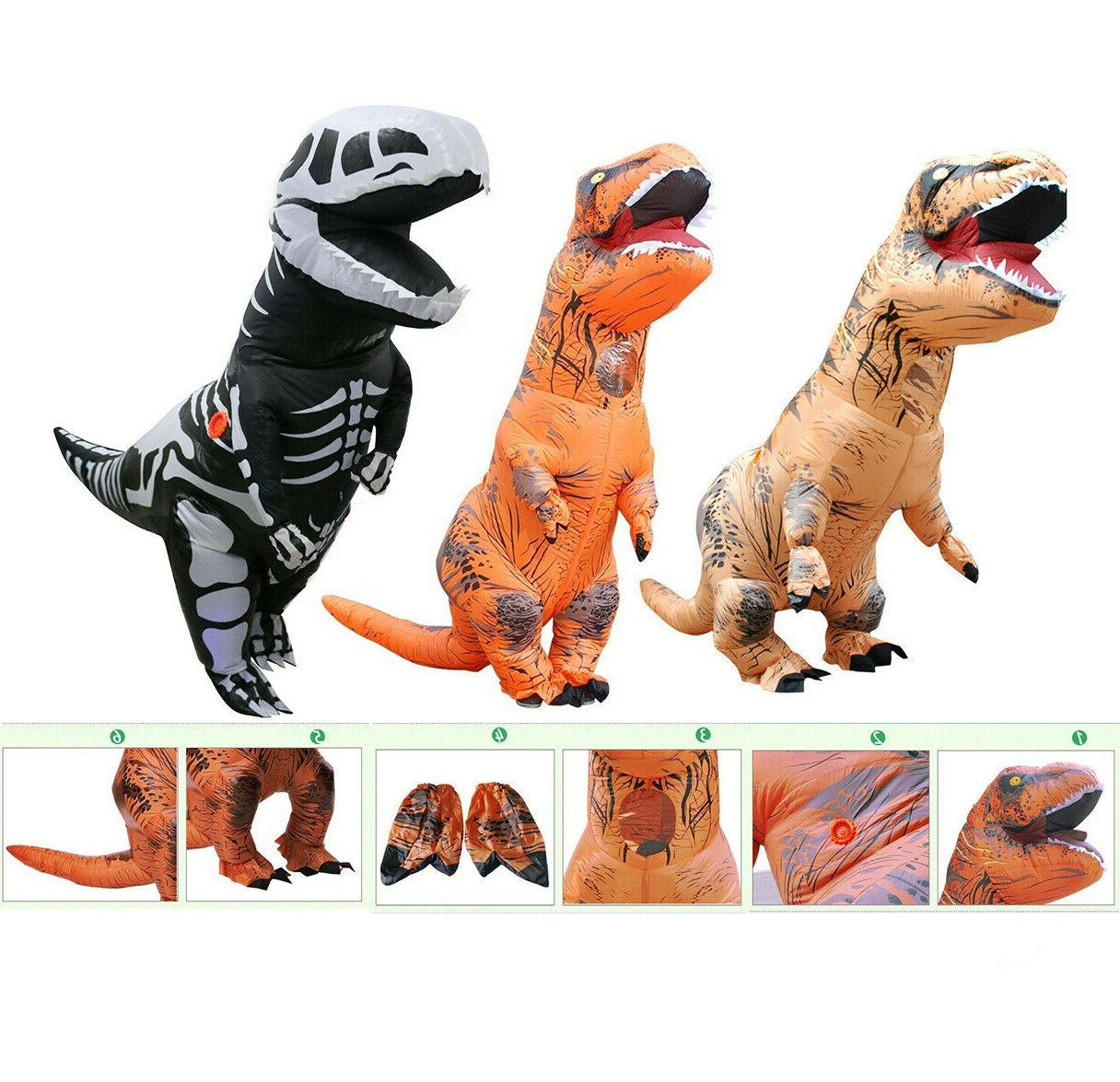 inflatable dinosaur dino adult kids costume funny