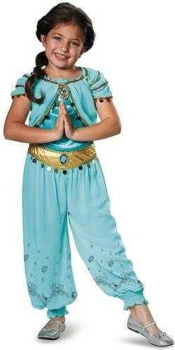 Jasmine Prestige Disney Princess Aladdin Fancy Dress Up Hall