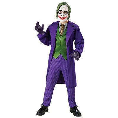 joker costume boys deluxe kids child youth