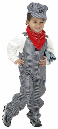 Aeromax Jr. Train Engineer Suit Child Kids Costume