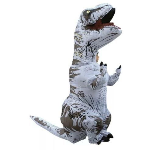 jurassic world t rex inflatable childs costume
