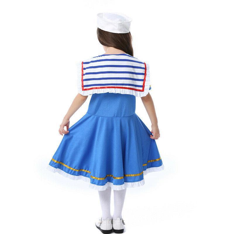 K911 Navy Sweetie Kid Sea Marine Nautical Week Costume