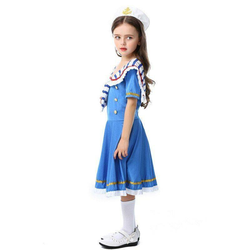 K911 Navy Kid Nautical Girls Costume