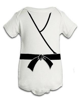 Karate Kid White Inspired Infant Baby Newborn Onesie Creeper