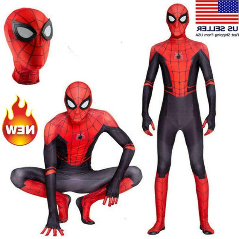 Kid Boy Spider-Man From Halloween Party