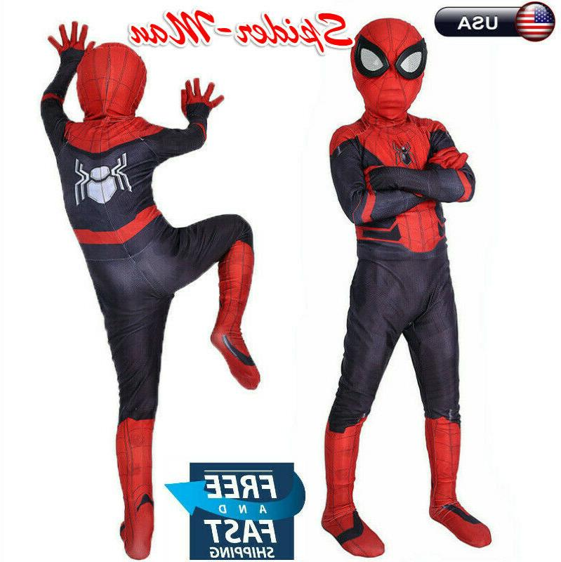kid boy spider man far from home