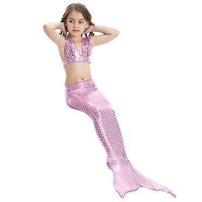 Kid Tail Bikini Set - Tail Swimming Swimwear US