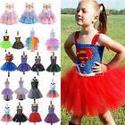 Kid Girls Unicorn Disney Frozen Marvel Fancy Dress Up Cospla