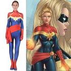 kids adult captain ms marvel cosplay costume