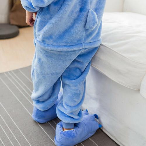 Kids Cospaly Boy Girl Pikachu Pajamas Sleepwear