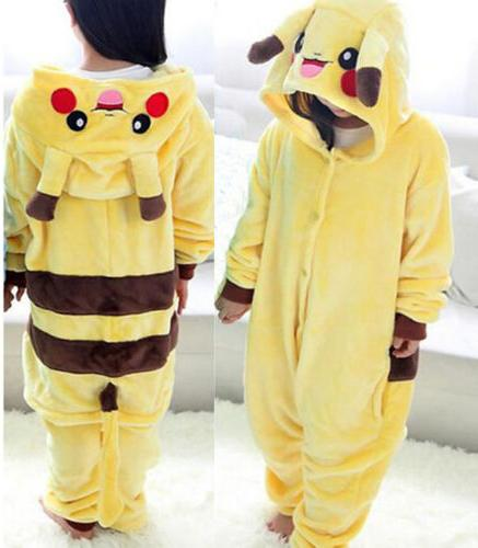 Kids Animal Cospaly Girl Pajamas Jumpsuit