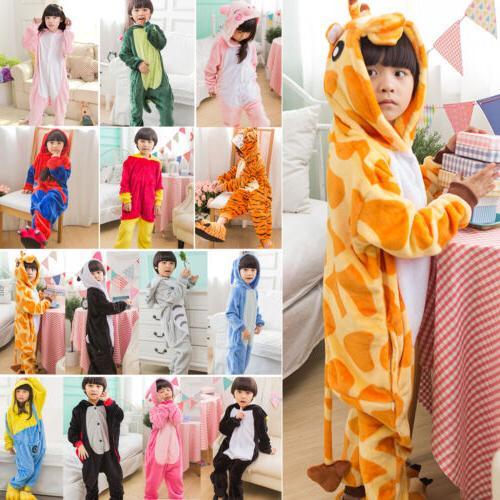 Kids Animal Costume Cospaly Pajamas Sleepwear
