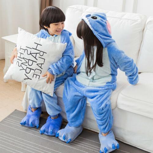 Kids Animal Costume Cospaly Boy Pajamas Sleepwear