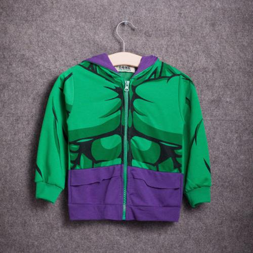 Kids Jacket Coat Sweatshirt Jumper Tops
