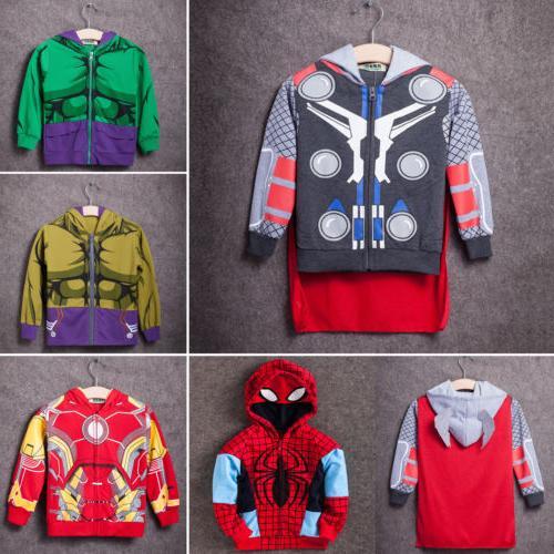 Kids Jacket Coat Long Sweatshirt Tops