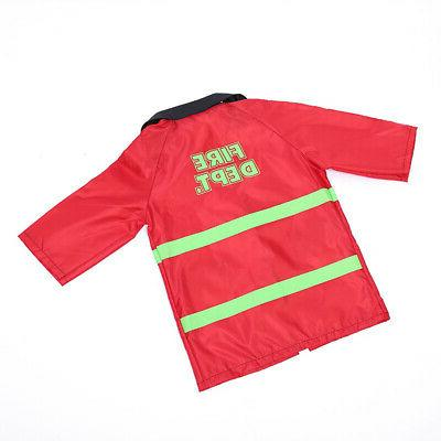 TopTie Kids Play Costume Set with Firefighter
